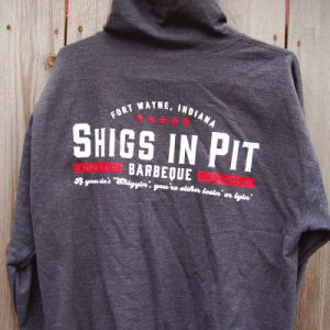 Shigs In Pit Hoodie - back