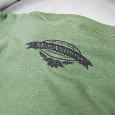 MadBrew Cardinal t-shirt - back detail