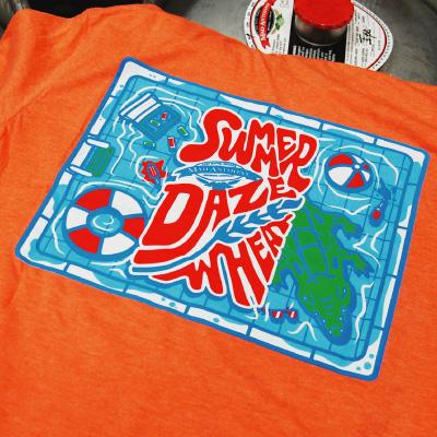 Summer Daze Shirt back detail