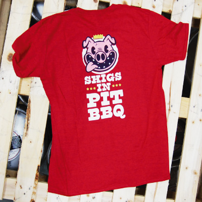 Shigs In Pit Pig shirt back