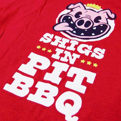 Shigs In Pit Pig shirt back detail